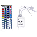 abordables Unidades LED-hkv® 44 key ir remote controller rgb led dimmer para led light bulb mini controlador mini rgb