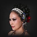 hesapli Dans Aksesuarları-Göbek Dansı Başlıklar Kadın's Performans Deniz Kabuğu Payetli Payet Denizyıldızı ve Deniz Kabuğu Püsküllü Bohem Tema Peri Masalları Tatil