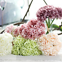 cheap Umbrella/Sun Umbrella-Artificial Flowers 1 Branch European Style Peonies Tabletop Flower
