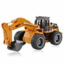 cheap Indoor IP Network Cameras-RC Car HUINA 1530 6 Channel 2.4G Excavator / Construction Truck 1:18 Remote Control / RC / Rechargeable / Electric