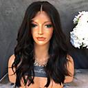 billige Kostymeparykk-Remy-hår Halvblonder uten lim Blonde Forside Parykk Krop Bølge Parykk 150% Hair Tetthet Naturlig hårlinje Afroamerikansk parykk 100 % håndknyttet Dame Kort Medium Lengde Lang Blondeparykker med