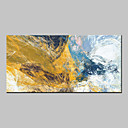 cheap Abstract Paintings-Oil Painting Hand Painted - Abstract Abstract Modern Canvas