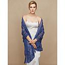 cheap Wedding Wraps-Chiffon Wedding / Party / Evening Women's Wrap With Beading / Ruffles / Ruffle Shawls