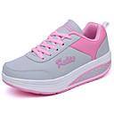 baratos Capinhas para Celular & Protetores de Tela-Mulheres Sapatos Couro Ecológico Primavera / Outono Conforto Tênis Sem Salto Preto / Azul / Rosa claro