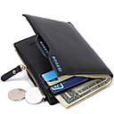 cheap Kitchen Faucets-Men's Bags PU Money Clip for Shopping / Daily Black / Dark Blue / Dark Coffee