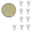 billige Strass og dekorasjoner-10pcs 5 W 400 lm GU10 / GU5.3 / E26 / E27 LED-spotpærer 80 LED perler SMD 2835 Dekorativ Varm hvit / Kjølig hvit 220-240 V / 10 stk. / RoHs