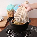 cheap Racks & Holders-Soup Filter Bag Herbal Medicinal Material Stew Tea Strain Drawstring Cheesecloth Halogen Compartment Sachet Bags