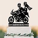 povoljno Svadbene vrpce-Figure za torte Rođendan Vjenčanje Visoka kvaliteta plastika Vjenčanje Rođendan s 1 PVC vrećica