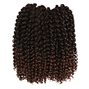 cheap Hair Braids-Braiding Hair Curly / Crochet Curly Braids / Hair Accessory / Human Hair Extensions Synthetic Hair Hair Braids Daily / There are 3 piece in one pack. Normally 5-7 pack are enough for a full head.