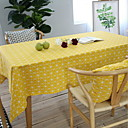 cheap Table Cloths-Cotton Blend Table cloths Printing Table Decorations 1 pcs