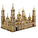 cheap 3D Puzzles-3D Puzzle / Jigsaw Puzzle / Model Building Kit Church / Plaza del Pilar DIY / Simulation Wooden Classic Kid's / Adults' Unisex Gift