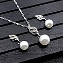 cheap Jewelry Sets-Women's Jewelry Set - Dangling Style Include Gold / Silver For Wedding / Party / Special Occasion / Anniversary / Birthday