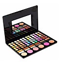 cheap Eyeshadows-78 colors Combination Eyeshadow Palette / Powders Powder Daily Makeup