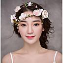 baratos Acessórios de Cabelo-Tecido Headbands / Flores / Ferramenta de cabelo com 1 Casamento / Ocasião Especial / Aniversário Capacete