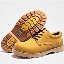رخيصةأون سنيكرز رجالي-للرجال TPU خريف / شتاء مريح أحذية رياضية أصفر / أخضر داكن / بني داكن