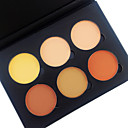 cheap Eyeshadows-6 Color in 1 Palette , 4 Color Palette Select colors Powder / Concealer / Contour / Blush Dry / Matte / Combination Pressed powder Whitening / Skin Lifting / Long Lasting Men / Women / Lady Ammonia