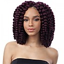 cheap Hair Braids-Braiding Hair Curly / Bouncy Curl Curly Braids / Hair Accessory / Human Hair Extensions 100% kanekalon hair / Kanekalon 10 roots / pack Hair Braids Ombre Crochet Braids / 100% kanekalon hair Daily