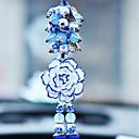 preiswerte Auto Lampen-Diy automotive Anhänger eleganten Blumenwagen Anhänger&Ornaments keramik