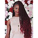 cheap Hair Braids-Braiding Hair Curly / Afro / Crochet Dreadlocks / Faux Locs / Hair Accessory / Human Hair Extensions 100% kanekalon hair 24 roots / pack Hair Braids Ombre Braiding Hair / Dreads Locs / Crochet Faux