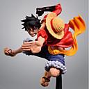halpa Anime-figuurit-Anime Toimintahahmot Innoittamana One Piece Monkey D. Luffy PVC CM Malli lelut Doll Toy Miesten Naisten