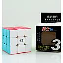 billige Puslespill i tre-Rubiks kube QIYI Warrior 3*3*3 Glatt Hastighetskube Magiske kuber Pedagogisk leke Stresslindrende leker Kubisk Puslespill Konkurranse Gave