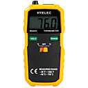 cheap Instrument Accessories-HYELEC MS6501 Large LCD Display Digital Thermometer K Type Thermocouple Termometro With Data Hold/Logging