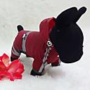 baratos Roupas para Cães-Cachorro Capa de Chuva Roupas para Cães Sólido Amarelo Vermelho Verde Fibras Acrilicas Ocasiões Especiais Para animais de estimação