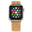 cheap Necklaces-Watch Band for Apple Watch Series 4/3/2/1 Apple Milanese Loop Stainless Steel Wrist Strap