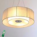 billige Hengelamper-Takplafond Omgivelseslys Krom Metall Stof Pære Inkludert 220-240V Dimbar med fjernkontroll LED lyskilde inkludert / Integrert LED