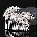 cheap Cell Phone Cases & Screen Protectors-Rhinestone Alloy Hair Combs Flowers Hair Clip 1 Wedding Special Occasion Birthday Party / Evening Headpiece