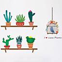 رخيصةأون ملصقات الحائط-حيوانات أزياء النباتية ملصقات الحائط لواصق حائط الطائرة لواصق حائط مزخرفة, بلاستيك تصميم ديكور المنزل جدار مائي جدار