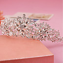 cheap Marble Track Sets-Rhinestone / Alloy Tiaras / Headbands with 1 Wedding / Special Occasion / Birthday Headpiece