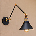 cheap Night Lights-Simple / Vintage / Country Swing Arm Lights Metal Wall Light 110-120V / 220-240V 40W