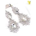 cheap Choker Necklaces-Women's Earrings - Flower Bohemian, Boho White / Blue For Wedding / Party / Daily