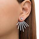 cheap Earrings-Women's Stud Earrings - Punk, Fashion Gold / Silver For Casual
