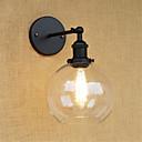 رخيصةأون ثريات-قديم / رجعي / زهري مصابيح الحائط معدن إضاءة الحائط 110-120V / 220-240V 40W / E26 / E27