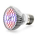 abordables Luz Ambiente LED-1pc 650lm E27 Growing Light Bulb 40 Cuentas LED SMD 5730 UV (Luz Negra) Azul Rojo 85-265V