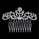 cheap Party Headpieces-Rhinestone / Alloy Hair Combs with 1 Wedding / Special Occasion / Birthday Headpiece