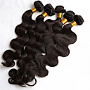 cheap Unprocessed Hair-5 Bundles Brazilian Hair Body Wave / Loose Wave Human Hair Natural Color Hair Weaves / Hair Bulk 8-26 inch Human Hair Weaves Hot Sale Human Hair Extensions