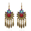 cheap Earrings-Women's - Personalized, Vintage, Basic Red / Green / Blue For Gift Evening Party Stage