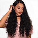 olcso Emberi hajból készült parókák-Remy haj Csipke Paróka Hullámos Hullám Paróka 180% Haj denzitás Természetes hajszálvonal Afro-amerikai paróka 100% kézi csomózású Női Közepes Hosszú Emberi hajból készült parókák / Mély hullám