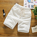 cheap Wall Sconces-Men's Plus Size Straight Slim Shorts Chinos Pants - Solid Colored