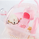 preiswerte Accessoires für Kleintiere-Nagetiere Hamster Silikon Käfige Gelb Grün Blau Rosa