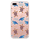 cheap Cell Phone Cases & Screen Protectors-Case For Apple iPhone 7 Plus iPhone 7 Transparent Pattern Back Cover Animal Soft TPU for iPhone 7 Plus iPhone 7 iPhone 6s Plus iPhone 6s