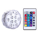 abordables Lámparas de Noche-YWXLIGHT® 1 pieza Luz de noche LED RGB Batería Regulable Impermeable Wireless Color variable Decorativa