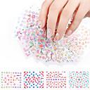 billige Negle Sticker-20 pcs Andet Mode Daglig