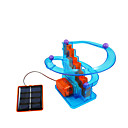 cheap Science & Exploration Sets-Solar Powered Toy Solar Powered DIY Plastics ABS Unisex Kid's Gift