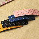 cheap Hair Accessories-Cloth Dots BB Knot ColorHairpin Side Clip Back Affixed To The Fabric Does Not Hurt Hair Color Mixed Hair 20PCS