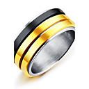 cheap Earrings-Men's Band Ring - Vintage, Fashion, Elegant 7 / 8 / 9 Gold For Wedding / Engagement / Ceremony