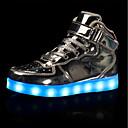 preiswerte Jungenschuhe-Mädchen Schuhe Künstliche Mikrofaser Polyurethan Herbst / Winter Komfort / Leuchtende LED-Schuhe Sneakers Schnürsenkel / Klett für